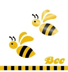 Merry bee Logo vector image