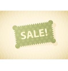 Sales Green vector image vector image