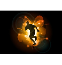 abstract sport vector image vector image