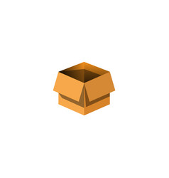3d box packaging icon and inspiration vector image