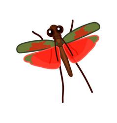 Cartoon insect clip art vector