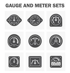 Gauge meter2 vector image