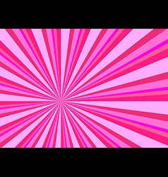 Light Ray Burst Abstract Background Pink vector image