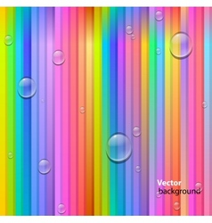 lines and drops background vector image vector image