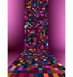 Abstract glowing background EPS 10 vector image
