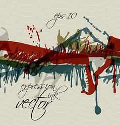 Colorful splattered web design repeat pattern vector image vector image