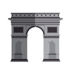 arc of triomphe vector image
