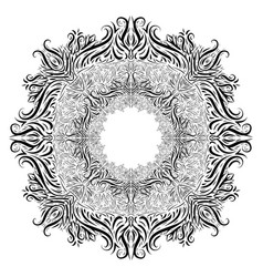 black and white vintage vignette the object is vector image