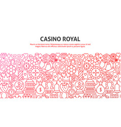 casino royal concept vector image