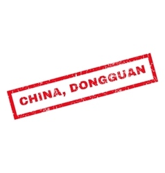 China Dongguan Rubber Stamp vector