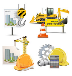 Design and Construction vector image