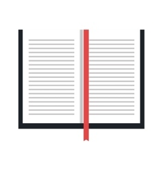 Education and books concept icon vector image