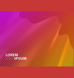 futuristic template design background modern vector image