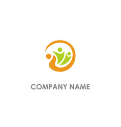 group care unity logo vector image