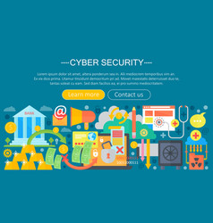 online communication security computer protection vector image vector image