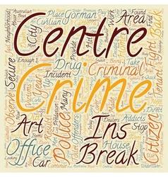 Civilian crime fighters text background wordcloud vector