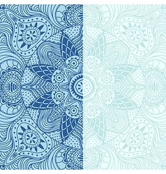 ornamental lace pattern square background with vector image