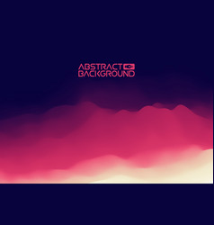 3d landscape background purple gradient abstract vector