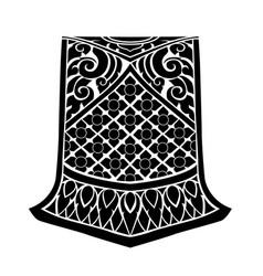 Asian fabric vector