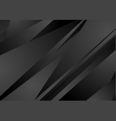 Black stripes abstract tech minimal background vector