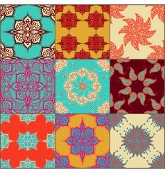 ceramic tiles set vector image