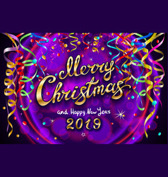 colorful festive for celebratory party and vector image
