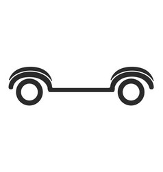 golf cart icon vector image