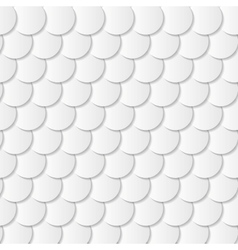 Grey paper circle shapes background vector