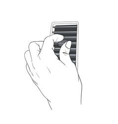 Hand adjust car air condition hole eps vector
