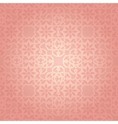 Lace pink vector image vector image
