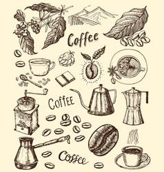 traditional filter coffee maker modern vintage vector image
