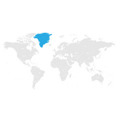 Greenland autonomous constituent country of vector