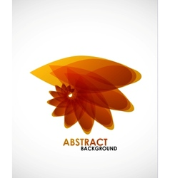 Autumn leaves nature concept vector image vector image