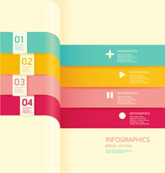 Modern soft color Design banner vector image vector image