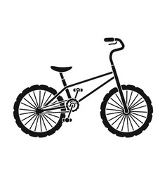 bmx cyclist bicyclist athletes sportsman bike for vector image vector image