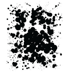 abstract black stain vector image