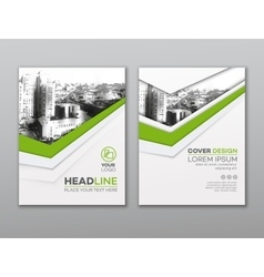 Brochure flyer design template Leaflet cover vector