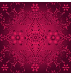 Dark purple seamless pattern vector