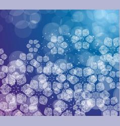 delicate summer floral background vector image