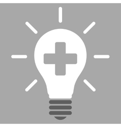 Medical Electric Lamp Icon vector