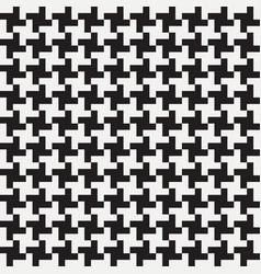 pepita seamless pattern vector image
