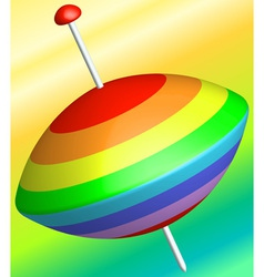 Whirligig vector image
