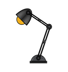 office light lamp vector image vector image