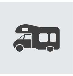 Trailer icon vector image vector image