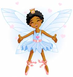 cartoon fairy vector image vector image