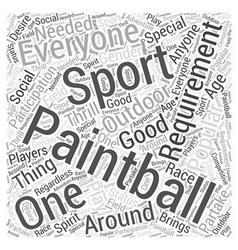 Bwpb who needs to play pai word cloud concept vector