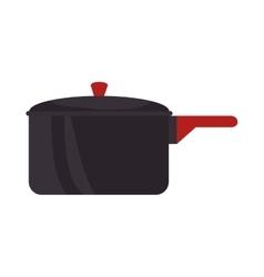 cooking pot kitchenware vector image