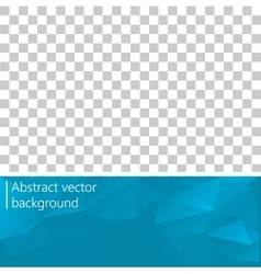 Abstract geometrical background The template vector image