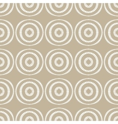 Abstract seamless hand drawn beige pattern vector image