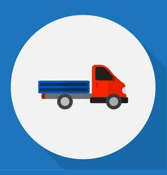Automobile symbol on truck vector
